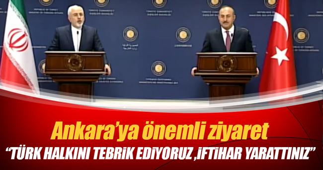 İranlı Bakan: Türk halkını tebrik ediyorum