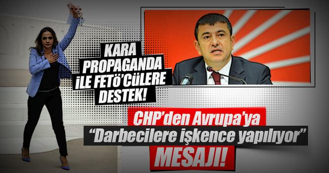 CHP vekiller FETÖ için Türkiye'yi şikayet etti!