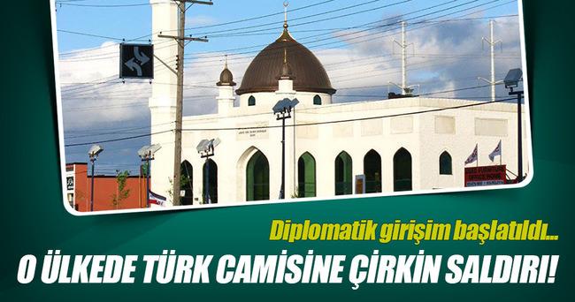 Kanada'da Türk camisine çirkin saldırı!