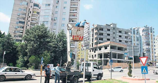 Büyükşehir'de tabela kaosu