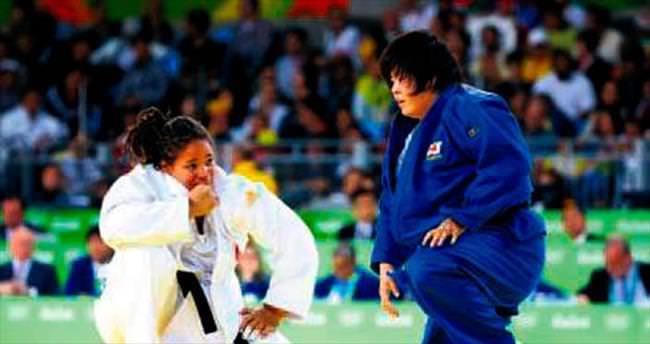 Judoda Kayra Sayit bronz maçında yenildi