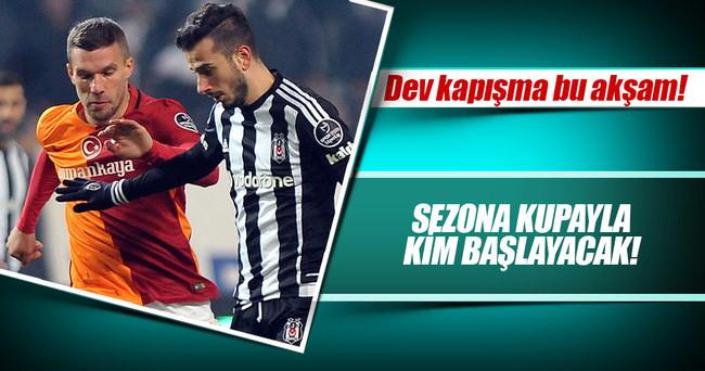 Beşiktaş Galatasaray Süper Kupa final maçı hangi kanalda, saat kaçta? İşte Galatasaray ve Beşiktaş'ın muhtemel 11'leri