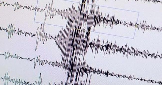 Akdeniz'de 3,8 büyüklüğünde deprem