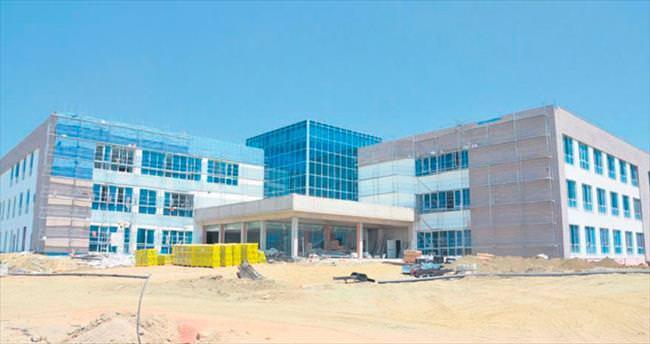 Gürsu Hastanesi'nde son aşamaya gelindi