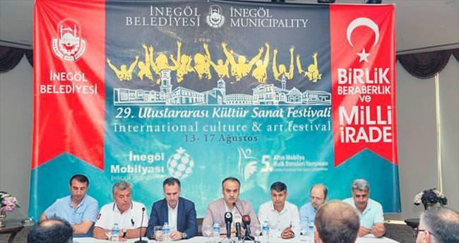 İnegöl Kültür ve Sanat Festivali başlıyor