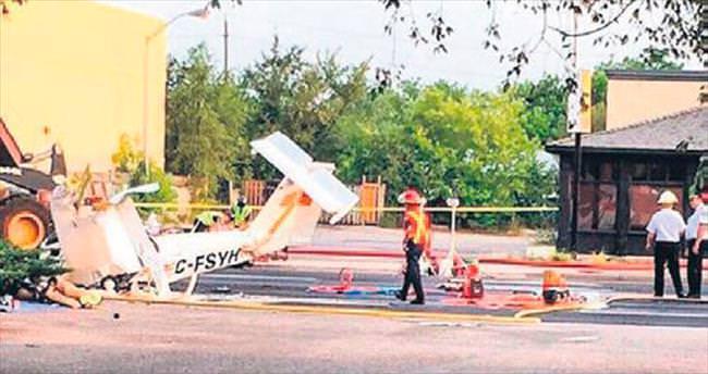 Çaldığı uçakla kaza yapıp öldü