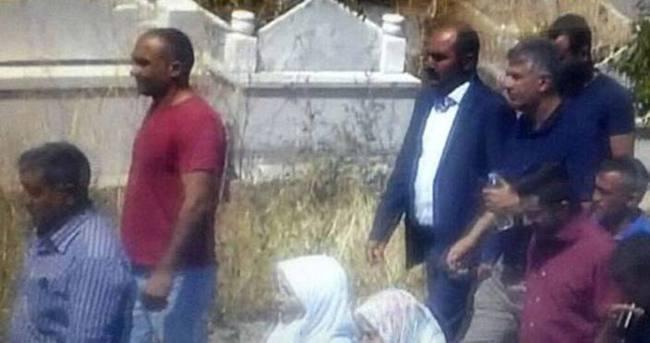 HDP Milletvekili Öztürk, teröristin cenazesine katıldı