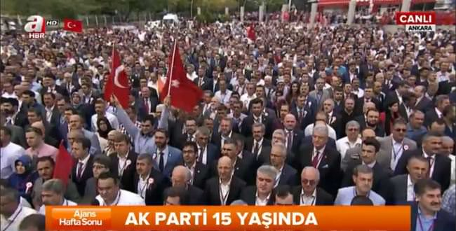 AK Parti'nin 15. yılı kutlanıyor