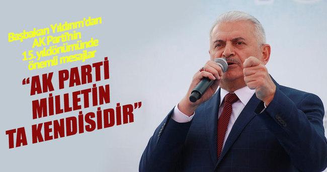 Başbakan Binali Yıldırım: AK Parti milletin ta kendisidir