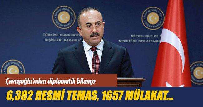 Çavuşoğlu'ndan diplomatik bilanço