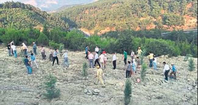 Manisa'ya demokrasi şehitleri hatıra ormanı