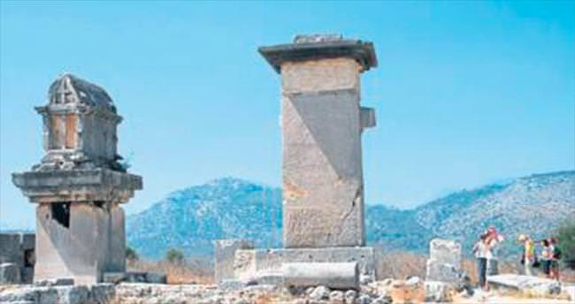 Xanthos'ta 66'ncı yıl kazıları başladı