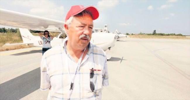 Tek motorlu uçakla 5. kez Türkiye turu