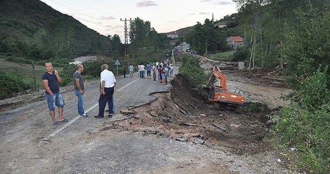 Bartın-Kastamonu karayolunun ulaşıma açılması çalışmaları sürüyor