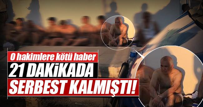 Öksüz'ü serbest bırakan hakimler için müfettiş raporu bekleniyor