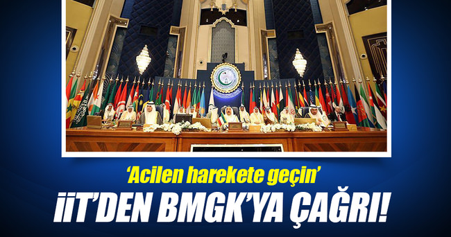 İİT'den BMGK'ya Mescid-i Aksa çağrısı!