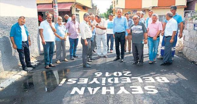 Seyhan Belediyesi asfaltta hız kesmiyor