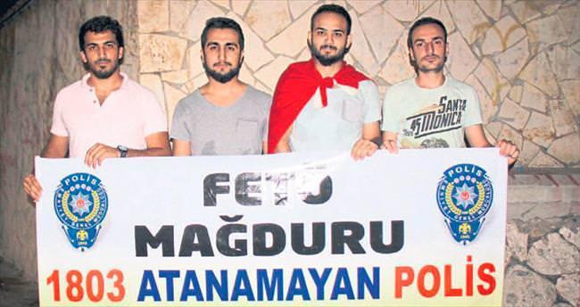 FETÖ mağduru olan polisler görev istiyor