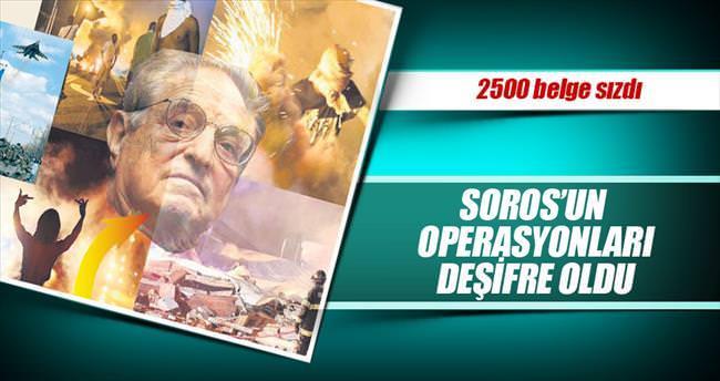 Soros'un operasyonları deşifre oldu