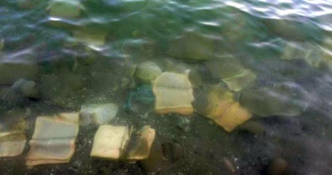 Atatürk Barajı'nda FETÖ'ye ait kitaplar bulundu!