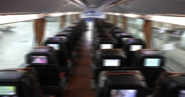 Yolcu otobüsünde taciz