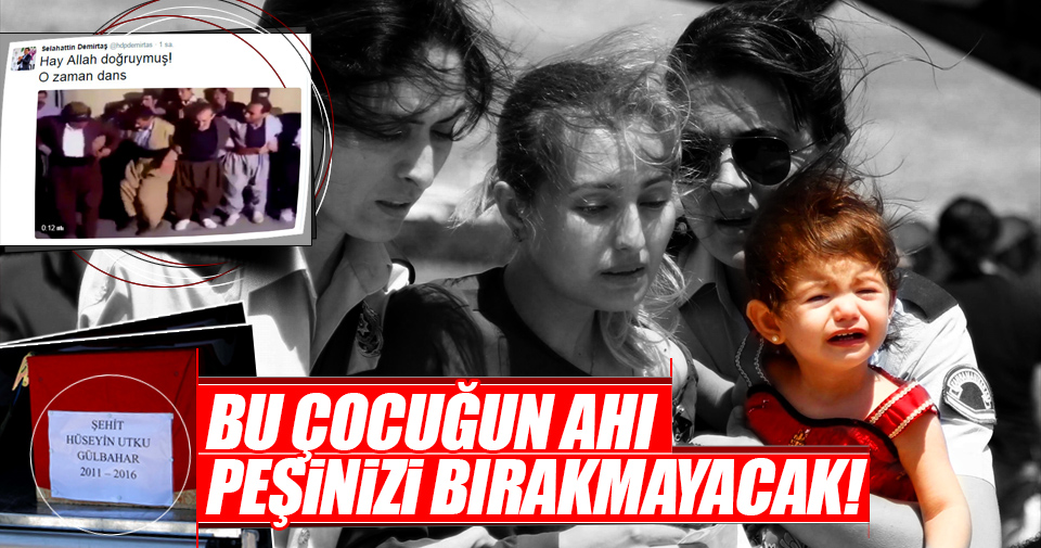 Polis memuru Ahmet Gülbahar ve oğluna veda