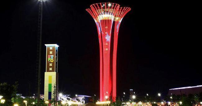 EXPO kulesinde bir ilk