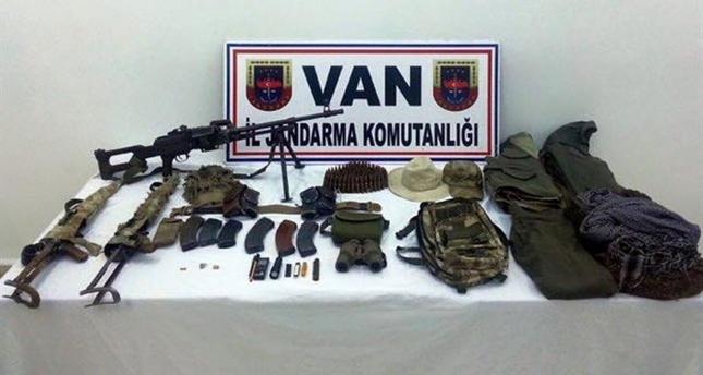 PKK'ya ait mühimmat ele geçirildi!
