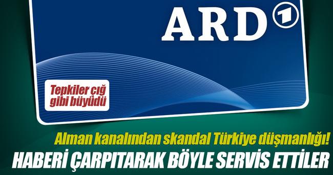 ARD, Türkiye'yi karalamak için soru önergesine verilen cevabı çarpıttı