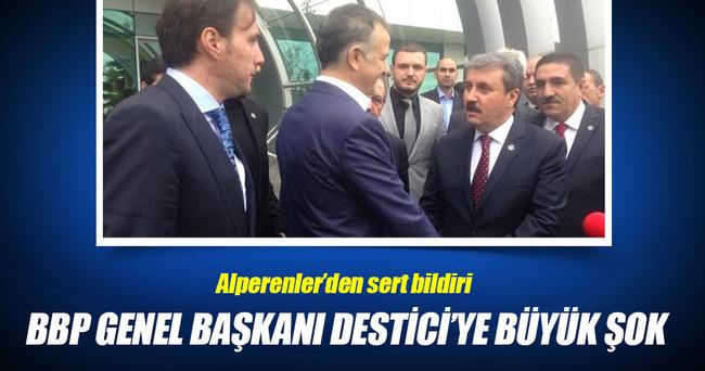 BBP Genel Başkanı Destici'ye büyük şok!