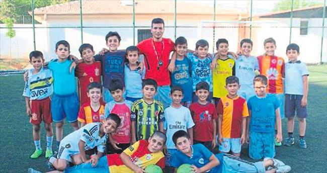 Gaziantep'te futbol yaz okulu ilgi gördü