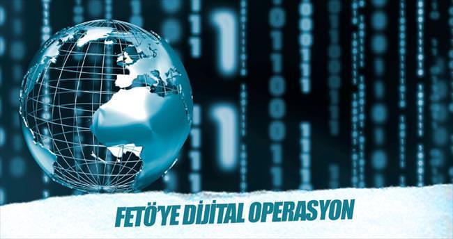 FETÖ'ye dijital operasyon