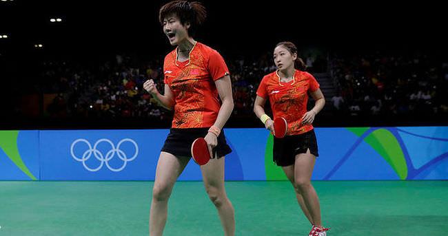 Çin, masa tenisinde altını bırakmadı