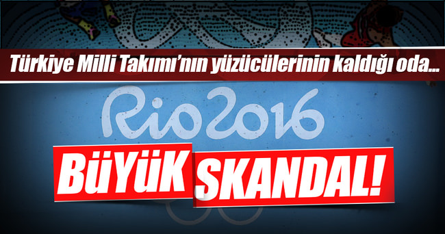 Rio'da skandal! Milli Takımı soydular!