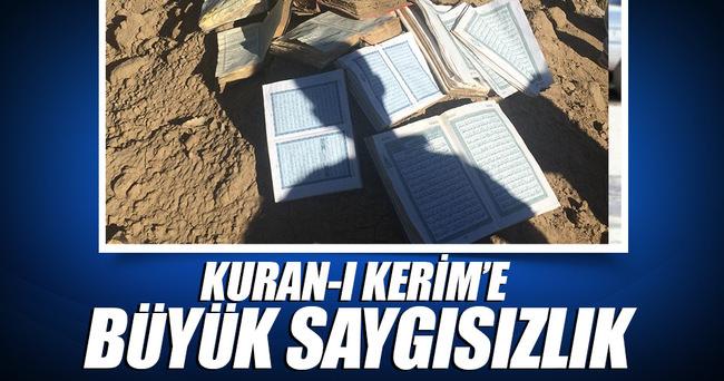 Kuran-ı Kerim'e büyük saygısızlık