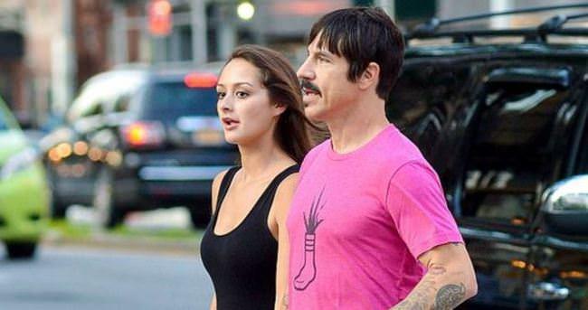 İşte Anthony Kiedis'in yeni sevgilisi