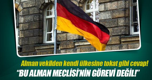 Alman vekilden 'Türkiye çarpıtması'na tepki
