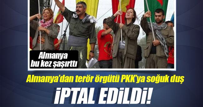 Almanya PKK'nın festivalini iptal etti
