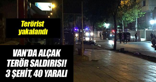 Van'da alçak saldırı