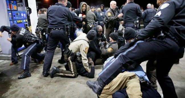 ABD'de polis şiddeti protestosundaki olaylar