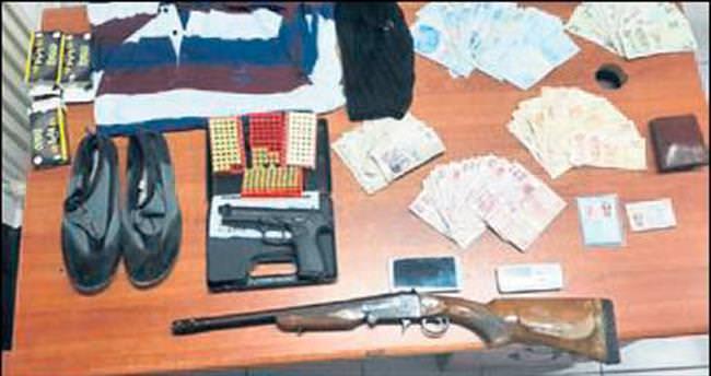 Maskeli, silahlı gaspçı yakalandı