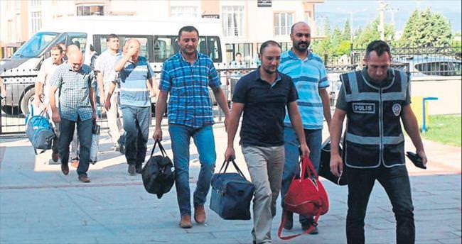 Burdur'da 10 tutuklama