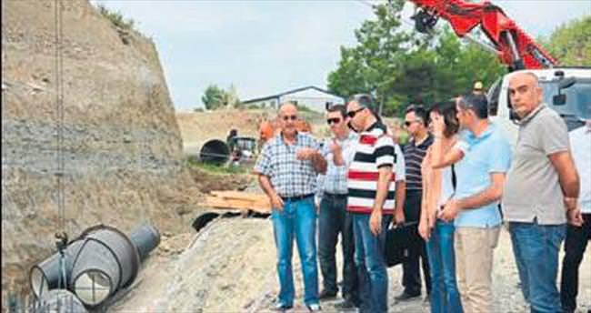 Naras Barajı'nda sona yaklaşıldı