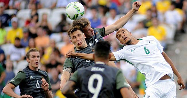 Rio'da futbol finalinde dev maç