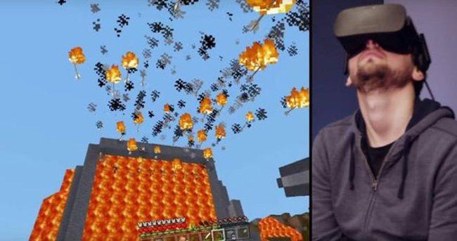 Minecraft sonunda Oculus Rift'e de girdi!