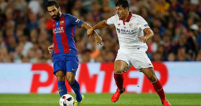 Barcelona - Sevilla maçında Arda Turan öyle bir gol attı ki...
