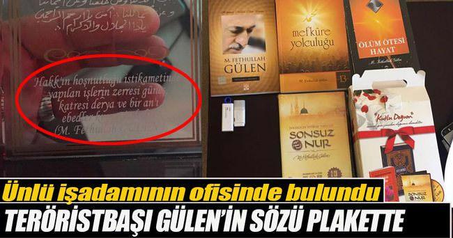 Ömer Faruk Kavurmacı'nın ofisinden Gülen'in kitapları çıktı!