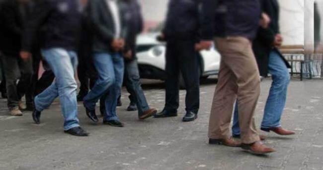 Erzincan merkezli 3 ilde 20 gözaltı