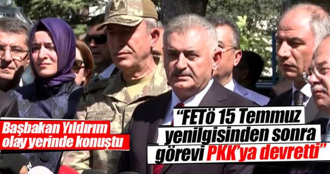 FETÖ 15 Temmuz yenilgisinden sonra görevi PKK'ya devretti