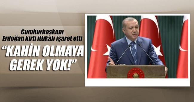 Erdoğan: Kahin olmaya gerek yok